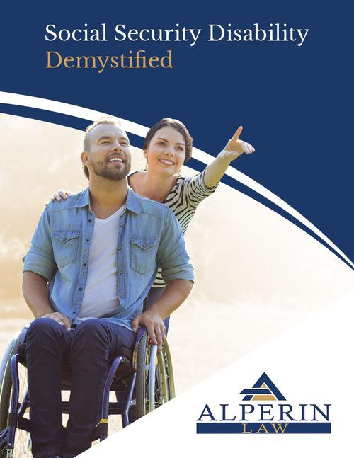 "Request Your Free Book ""Social Security Disability Demystified"""