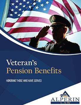 Request Our Veterans Pension Benefits Brochure